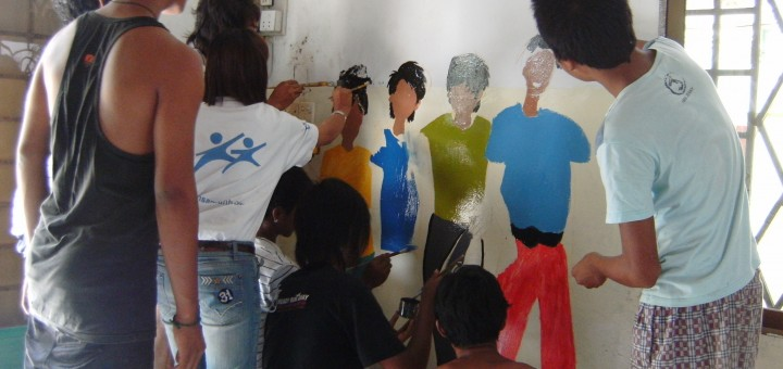 Painting Activities at Green House