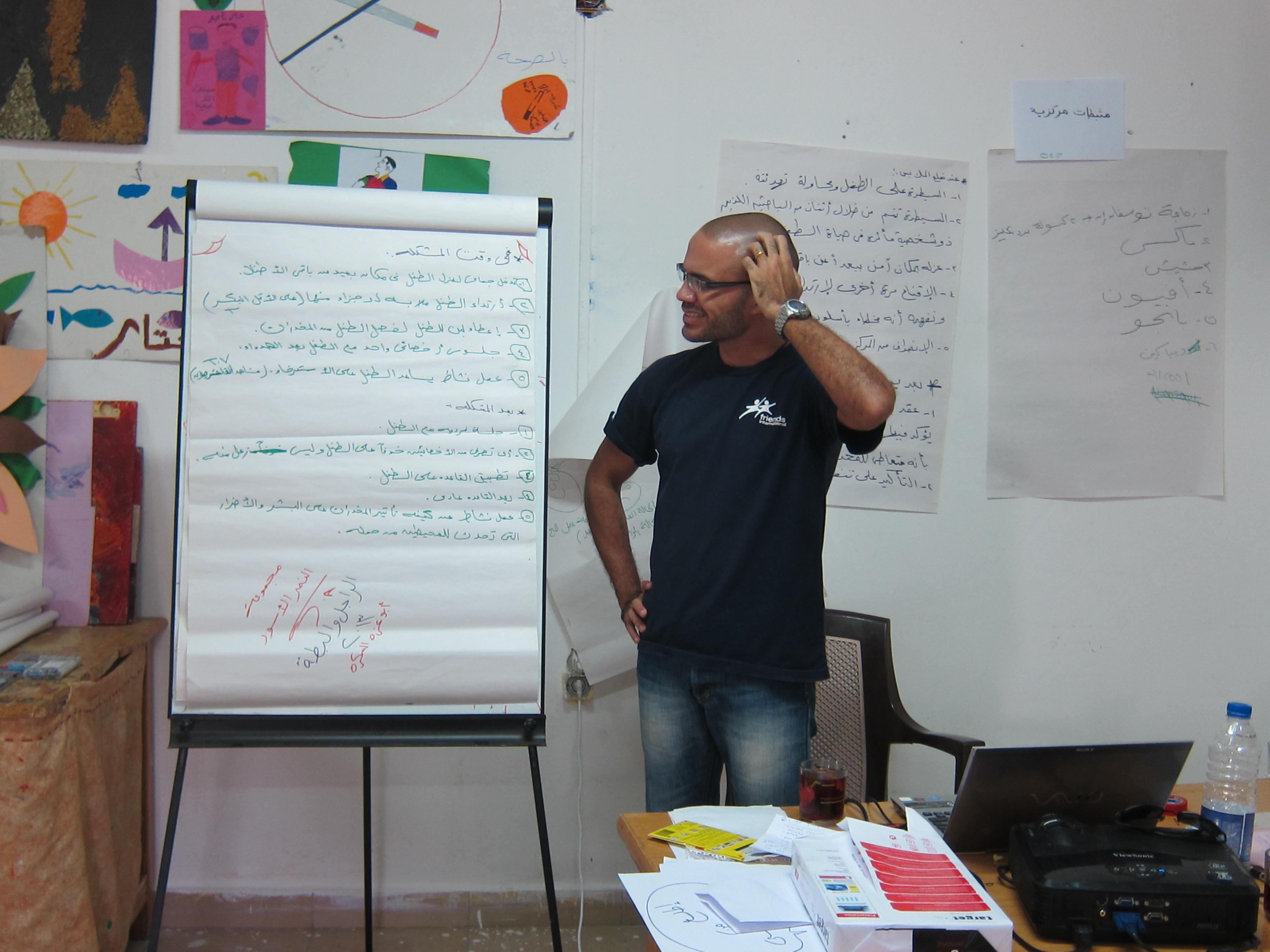 CYTI Alliance Training in Arabic - Friends-International Blog